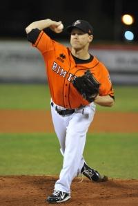 Mike Ekstrom of the Rimini Pirates