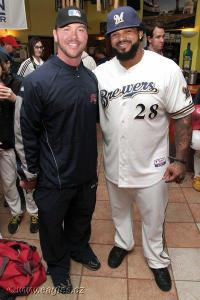 Andy Berglund and Prince Fielder