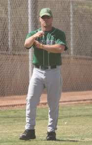 Sage Hill H.S. manager Andy Berglund