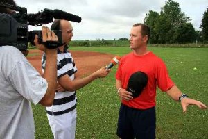 Andy Burgland led the Czech Republic to its first ever Silver Medal and was nominated as 2011 European Baseball Coaches Association Coach of the Year.