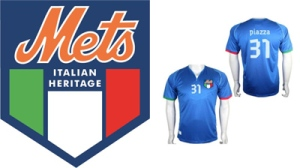 Some believe the Mike Piazza soccer jersey handed out at Italian Heritage Night at Citi Field may have been the best Mets giveaway of all-time.