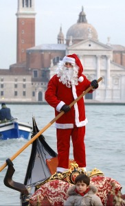Mike Piazza's popularity in Italy is second only Venezia's Santa Clause.