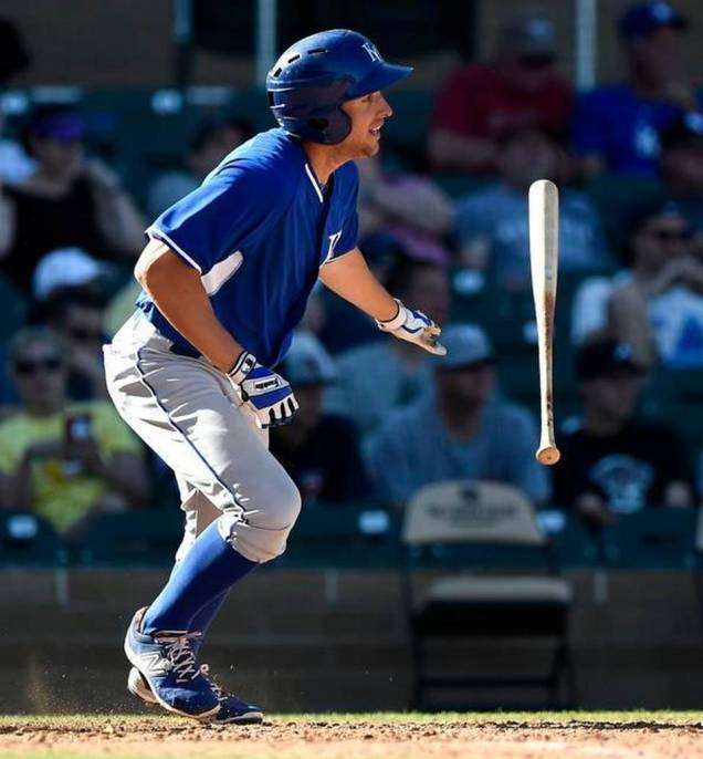 In his three 2015 Royals Spring Training game appearances, Alex Liddi hit .500 with a double,  two RBI and a stolen base.