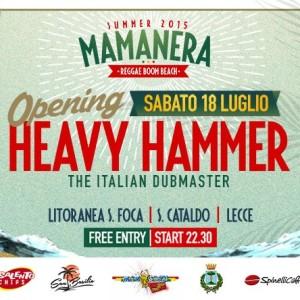 Heavy Hammer Sound opened the 2015 Summer Season.