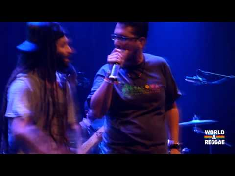 Alborosie enlisted the the services of fellow Italian Toni Tarantino to join the Shengen Clan Band
