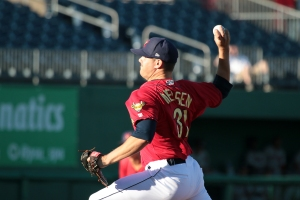 24-year-old pitcher Trey Nielsen