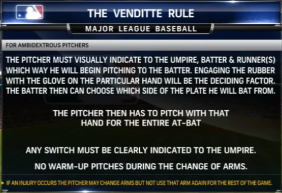 The Venditte Rule